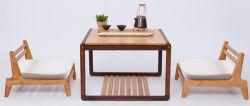 Petite table basse en bambou Tatami carré la table de salle de séjour Meubles
