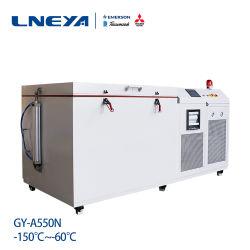 Diepvriezer van de Plaat van de ultra Lage Temperatuur de Cryogene Horizontale 200 Liter
