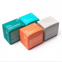 Personnaliser les différents produits cosmétiques à l'emballage des boîtes, toutes sortes d'emballages en papier de haute qualité des boîtes de produits cosmétiques