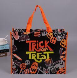 Хэллоуин украшения Non-Woven женская сумка Хэллоуин торгового центра отеля Cookies подарочные сертификаты Apple сумки