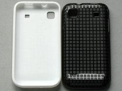 Square Design Soft Case for Samsung Galaxy S (I9000)