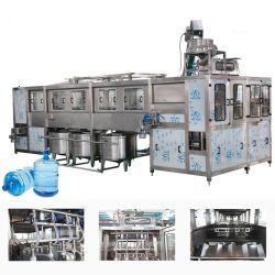 Volle automatische 20 Flaschen-Wanne Barrelled reiner Wasser-Produktionszweig des Liter-5gallon mit Flaschenreinigung-füllender und mit einer Kappe bedeckender Maschine