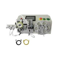 Contador de retenção de enrolamento do cabo bobina de fio máquina Máquina de Encadernação com a Contagem do Fluxômetro