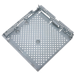 Étagère métallique Plate-Metal Plate-Metal perforation du carter de support