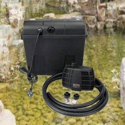 水ポンプ6000L/Hの回転式ドラム・フィルタのKoiの池のCbfシリーズ200t