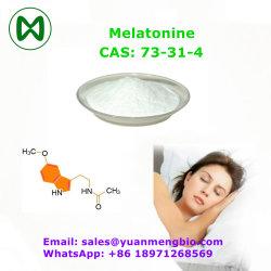 중국 공급 멜라토닌 CAS 73-31-4 멜라토닌 분말 멜라토닌