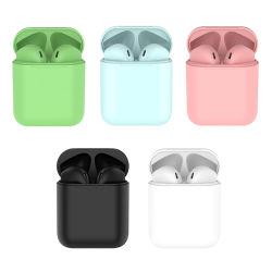 I12 TWS Touch Control Mini 1:1 ワイヤレス Bluetooth 5.0 イヤフォンポッド IOS スマートフォン用ヘッドセット