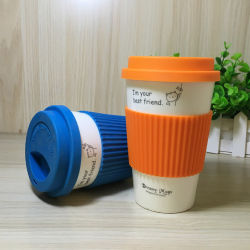 غطاء كوب كاريكاتير من السيليكون غطاء شاي مانع للتسرب من الدوستنة عظم مانع للتسرب القهوة الغطاء