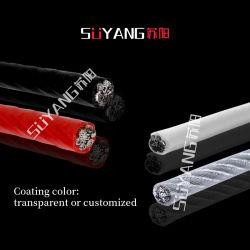 طرازات مختلفة من PVC-PE مصقولة 304/316 ذات سلك من الفولاذ المقاوم للصدأ النايلون