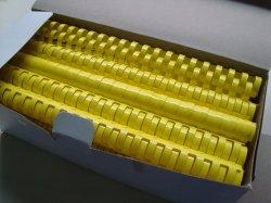 A impressão de encadernação de plástico de PVC bobina espiral pentes para arquivos do Notebook