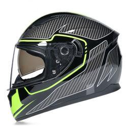 2020 Nuevo estilo de moda ABS Cascos cascos facial completa.