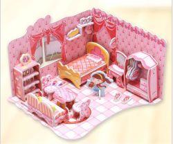 3D Puzzle Construção do modelo 3D Puzzle brinquedos para crianças presente de Natal