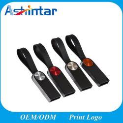Resistente al agua de alta velocidad de 128GB USB Stick Metal Mini USB Flash Drive con llavero