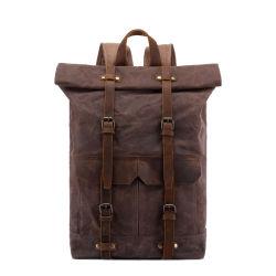 Outdoor Escursionismo impermeabile zaino in tela cerata Scuola di viaggio a doppia spalla Zaino per borse