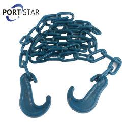 Matériel de montage en acier galvanisé avec de grandes chaînes de crochets d'arrimage