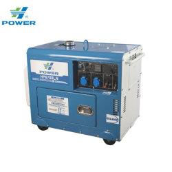 Звуконепроницаемые небольшой мощности заводская цена 5 квт Silent открытого типа портативных дизельного генератора