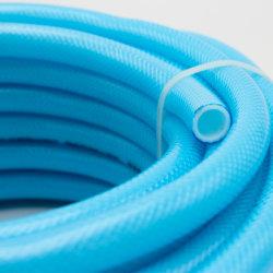 El vinilo transparente de plástico reforzado con fibra de tubos de PVC Tubo tubo trenzado manguera para la transferencia de agua