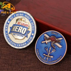 프로모션 에나멜 실버 341Mpco 오퍼레이션 지속성 프리덤 챌린지 코인 골드 게임 동전 홀더 키체인 (코인 - 005)