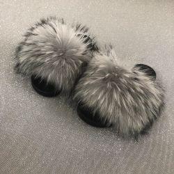 В режиме реального Raccoon Wholesales мех слайдов