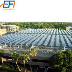 Os suportes de montagem em rack do Teto Solar De Aço Carbono Telheiro elevada estrutura de alumínio Kit Telheiro Solar