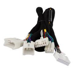 Radio OEM ODM Mazo de cables de Audio Car Stereo DSP Mazo de cables estéreo Cable de alimentación