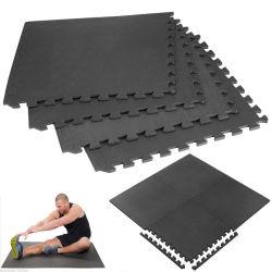 60*60cm 미끄럼 예방 융기 적당 EVA 옥외 운동 수수께끼 매트 MMA 수수께끼 매트 체조 EVA 지면 매트는 주문 포장을%s 가진 운동 매트를 당혹게한다