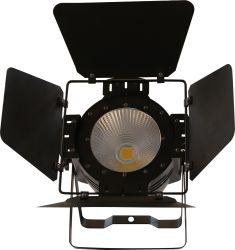 200W 2CH Branco Quente COB PAR Luz com Porta de luminosidade e função Strobe