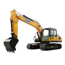 escavadora de rastos hidráulico XCMG 22ton Xe215c com o balde de rocha