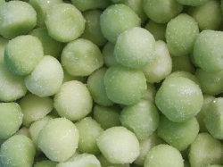 IQF Green Hami Melon balls