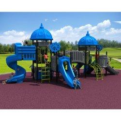 Les enfants de haute qualité de l'équipement de terrain de jeux de plein air du château de l'Amusement Park (SEM-A) Un200908