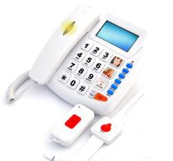 SOS Emergency Telephone Type e nessun messaggio vocale Big Button Phone