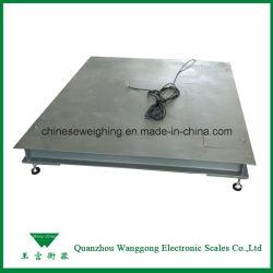 1t-10t elektronische Industriële het Wegen van de Vloer Schalen voor Installaties