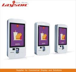 17/19/22/32 OEM/43/49/55/65 pouces LCD Affichage Digital Signage la publicité interactive à écran tactile Kiosque Self Service permanent de plancher Kiosque de paiement