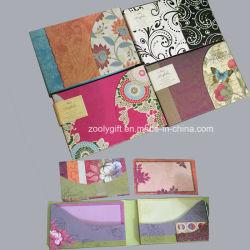 Remarque : Pli en portefeuille Notecards avec enveloppes