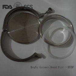 Edelstahl-Blindkappe für Rohling mit dreier Klemmleitung