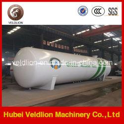 ASME Low Price Afrika 120kubieke meter/120m3/50mt LPG-opslagtank