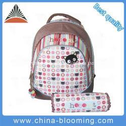 الشركة المصنعة في الصين مصنع Sublimation طباعة بوليستر الفتيات الأطفال حقيبة ظهر الطلاب حقيبة القلم العودة إلى المدرسة