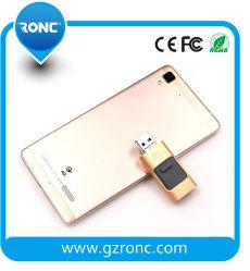 الهاتف المحمول شعار مخصص OTG USB Flash Drive 16G