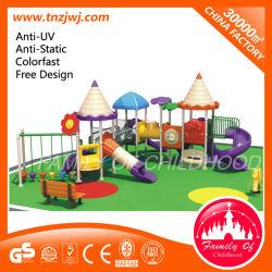 منتجات جديدة معدات كبيرة البلاستيك في الهواء الطلق ملعب للأطفال