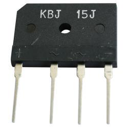 10A, 50-1000V diodo rectificador de ponte de silício Kbj10m