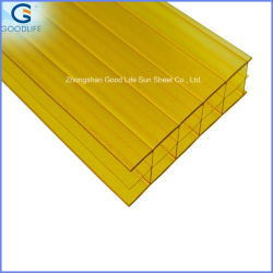 Hot Sell Sabic/Bayer Twinwall 4mm Polycarbonate Roofing Sheet