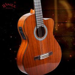 [Aileen] 39'' vue en coupe de la guitare classique électrique (AC309EC)