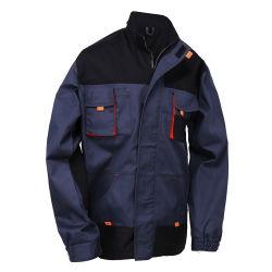 Outdoor Veste de travail durable Bicolor Cargo coton vestes pour hommes