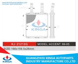 Hoge kwaliteit voor Hyundai Accent 1995 - 2005 warme wind Radiateur voor airconditioning