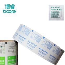 Спирт Prep колодки тампоны 4 упаковки бумаги с радиальным кордом Alu ламинированные чехол