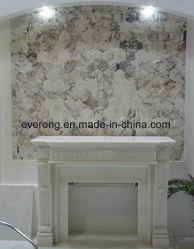 Blanc/Noir/gris/beige/Pierre hexagonal /carreaux de mosaïque de marbre pour salle de bains/dosseret/table/Patterns