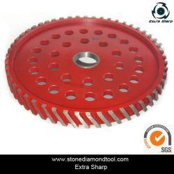 300мм алмазного фрезерования колеса нулевой терпимости инструменты для профилирования кромки люка камнеуловителя