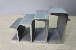 標準サイズのアルミニウムによって電流を通される穏やかな鋼鉄Uチャンネル