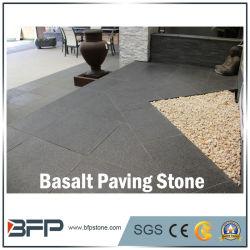 Le basalte naturelles Paving Stone/galets pour l'extérieur, allée, Jardin, paysage