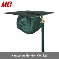 Школы для взрослых блестящих Gradaution Tassel с темно-зеленый